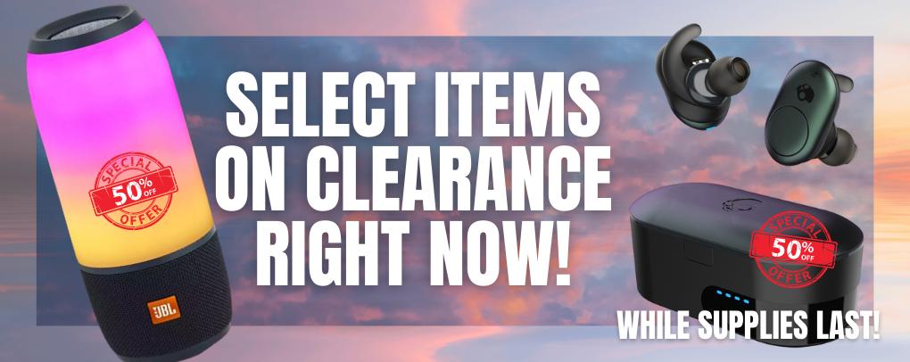 SELECT ITEMS ON CLEARANCE RIGHT NOW! WHILE SUPPLIES LAST!