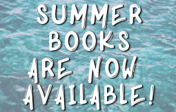 summer books are now available! click here to shop!