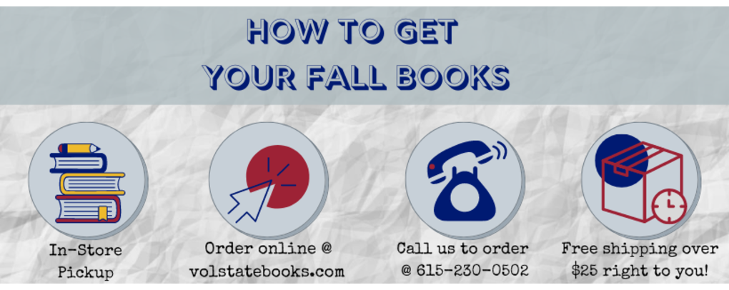how to get your books for your fall semester