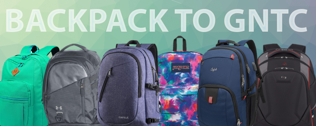 Banner image 2 links to https://gntc.textbooktech.com/merchandise/backpacks-1