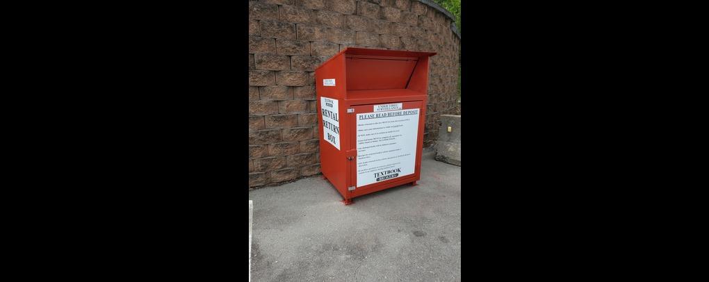 Our rental return bin