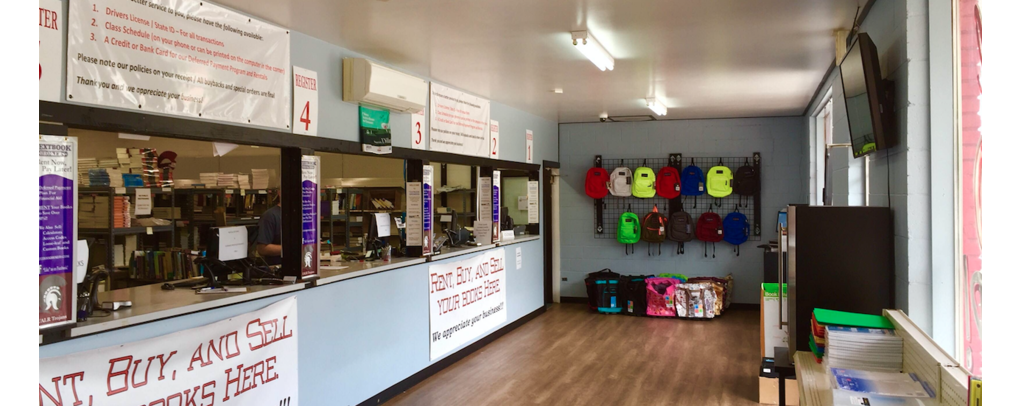 A picture of the inside of the store for this location.