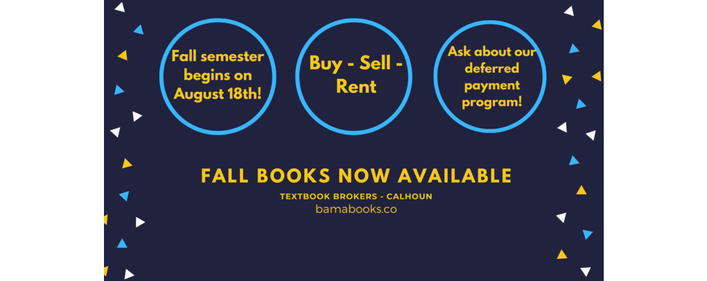 fall books now available!
