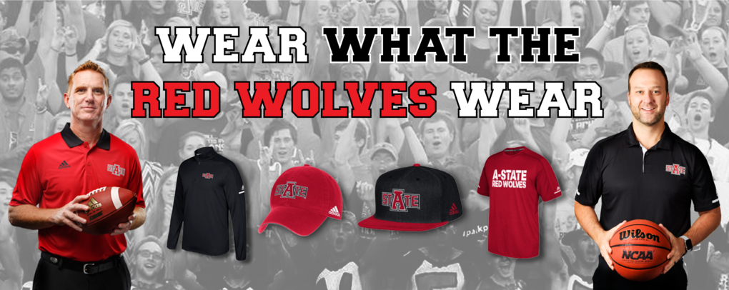 WEAR WHAT THE RED WOLVES WEAR