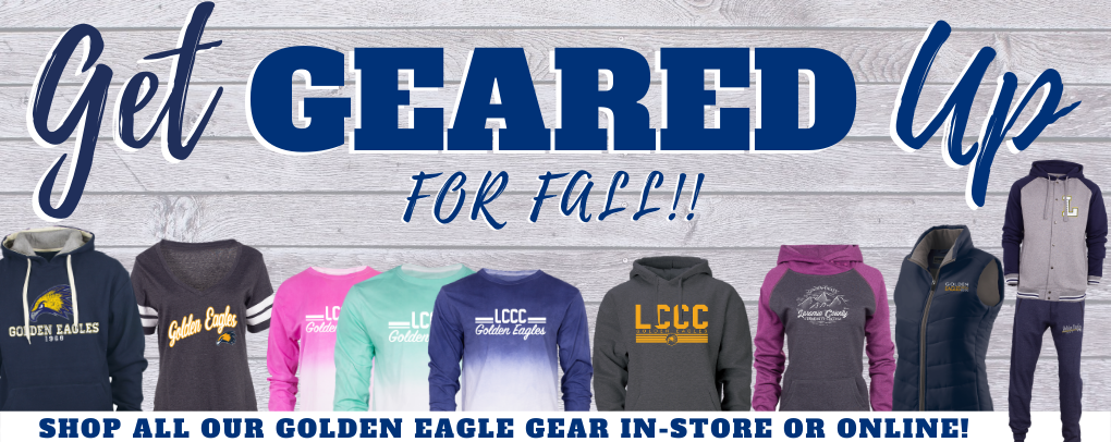 Get geared up for fall! Shop all our new gear online or in-store