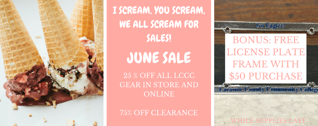 I scream  you scream  we all scream for sales!