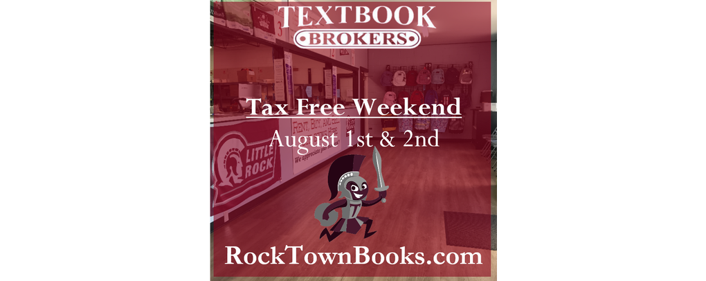 """""""Tax Free"""" Weekend August 1st & 2nd"""