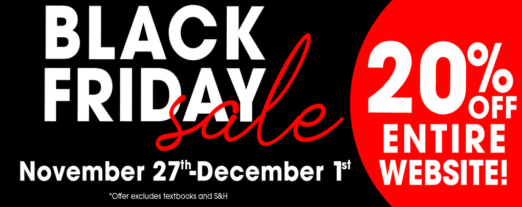 20% Black Friday Sale