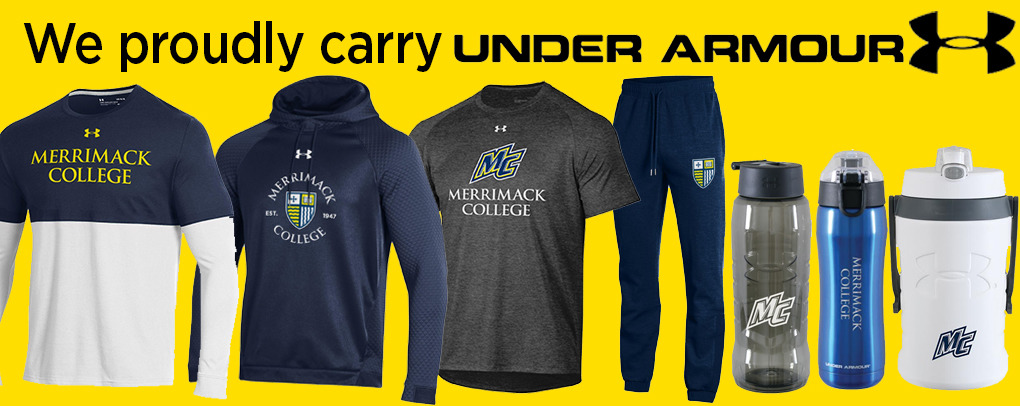 WE PROUDLY CARRY UNDER ARMOUR