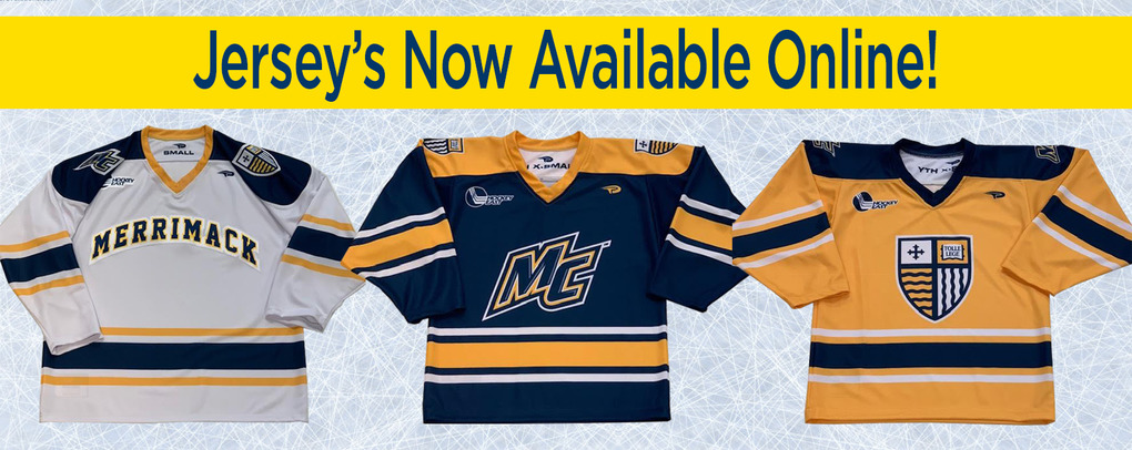 Banner image 3 links to https://merrimack.textbooktech.com/merchandise/jerseys