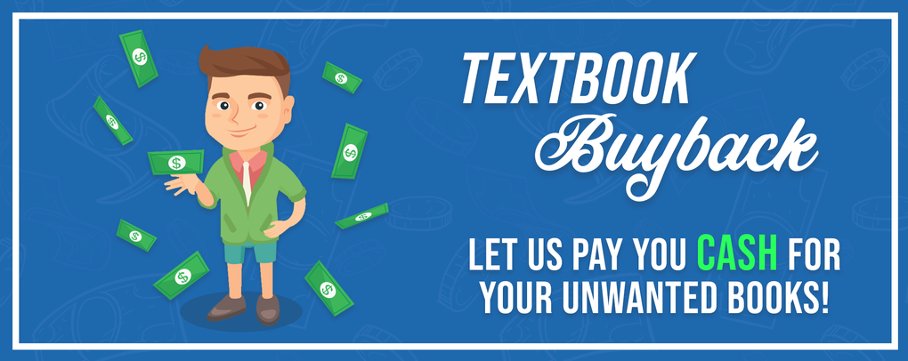 Sell your Textbooks for cash!
