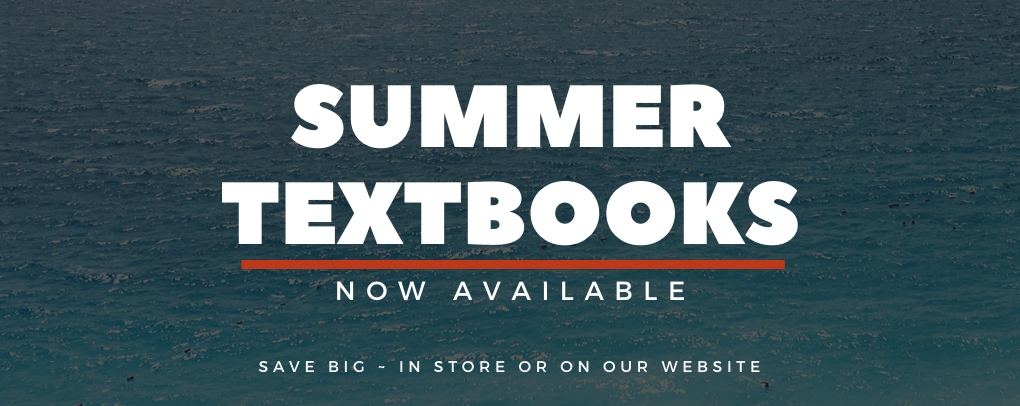 Summer textbooks now available