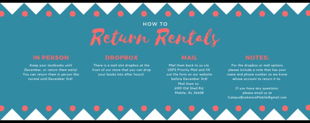 How to return rentals