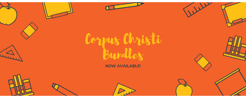 Corpus Christi bundles now available