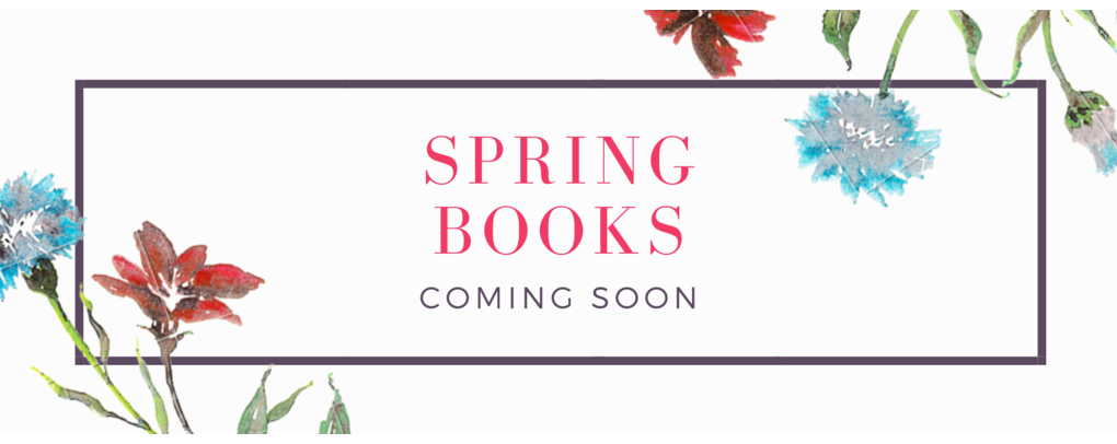 spring books coming soon