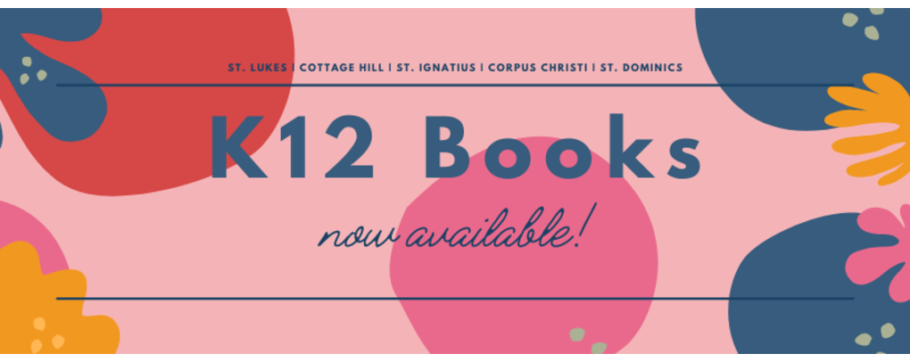 K12 books now available