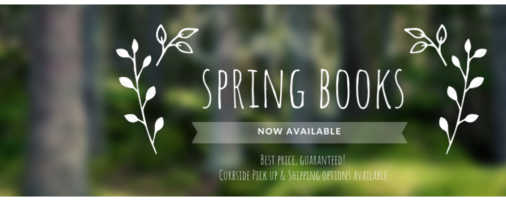 Spring Books Now available