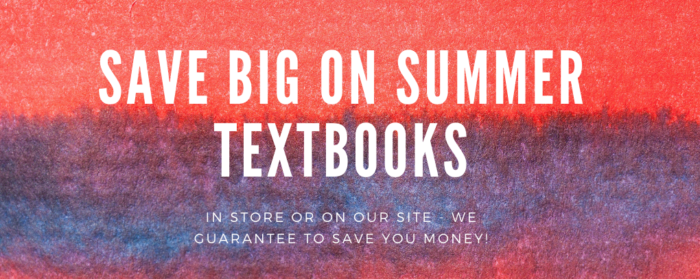 Save on summer textbooks