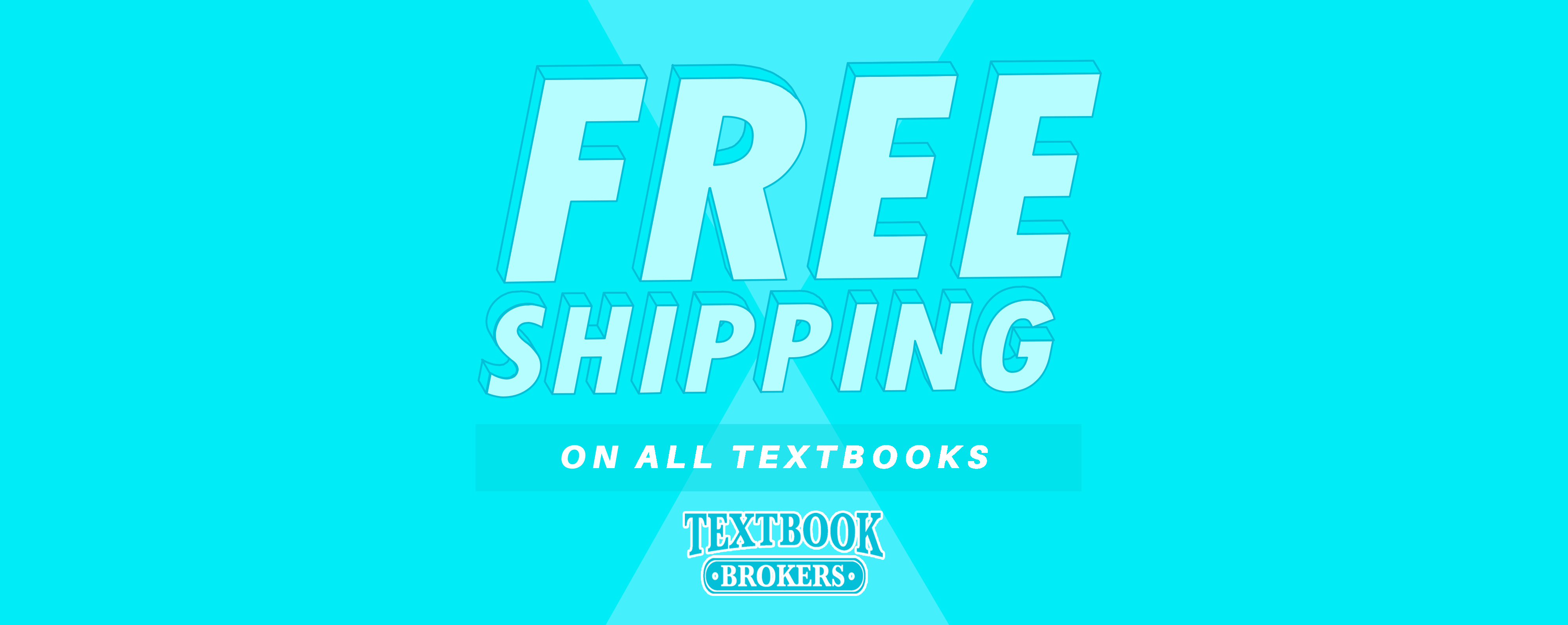 Free shipping website banner