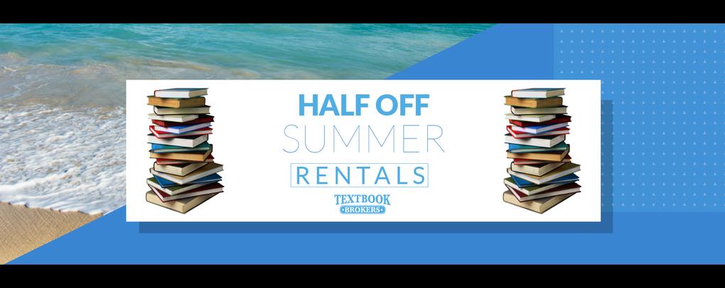 Half off summer rentals email