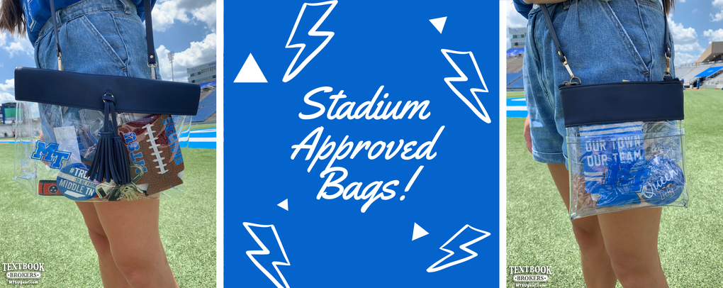 Stadium Approved Bags