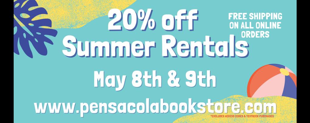 20% off Summer rentals