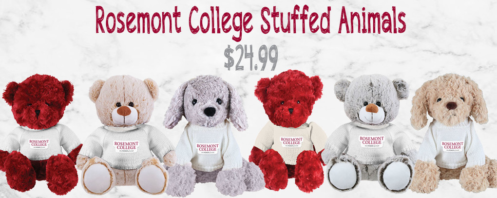 Rosemont College Stuffed Animals, $24.99