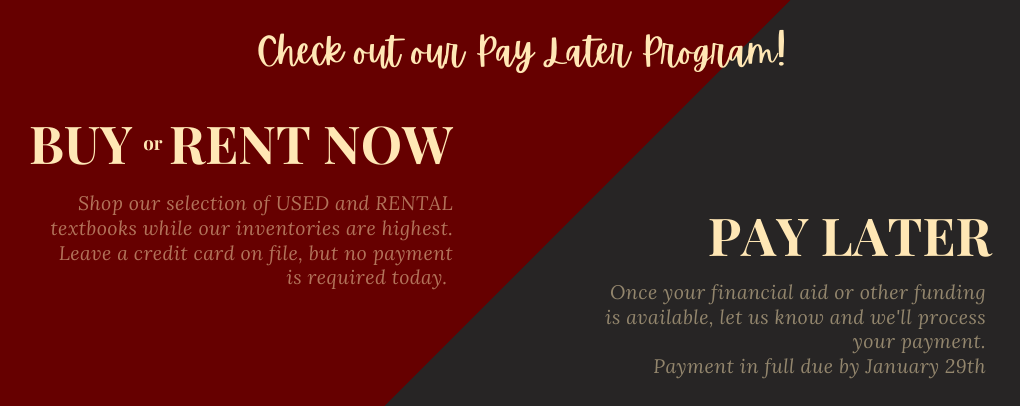 Pay Later options available