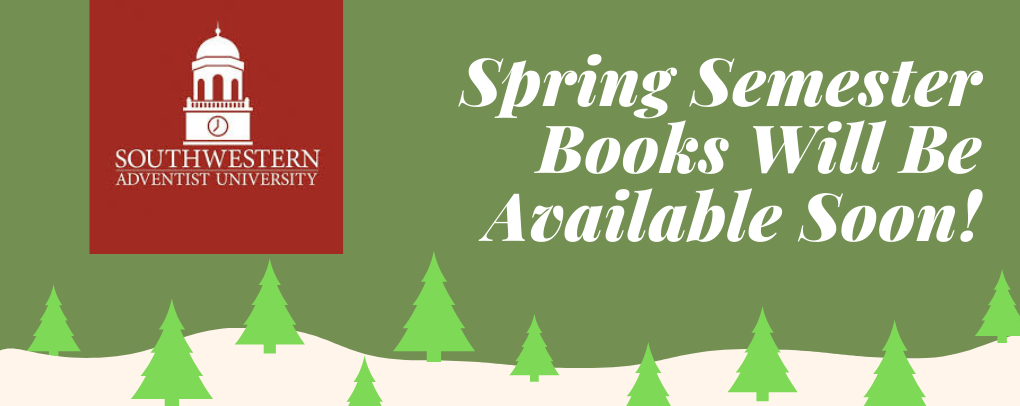 spring books coming soon!