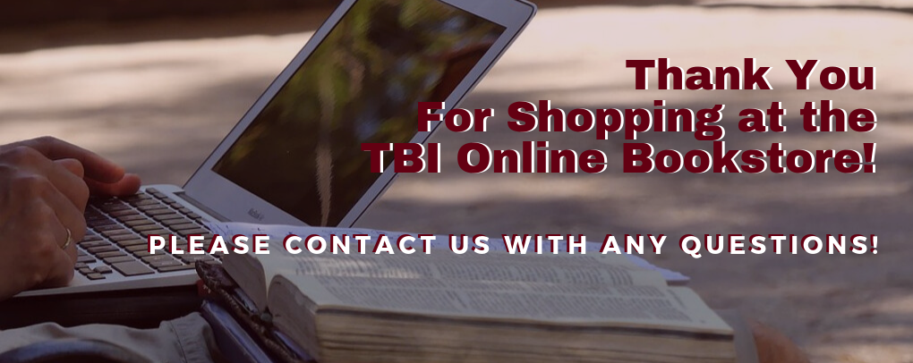 Thank you for shopping your TBI Online Bookstore!