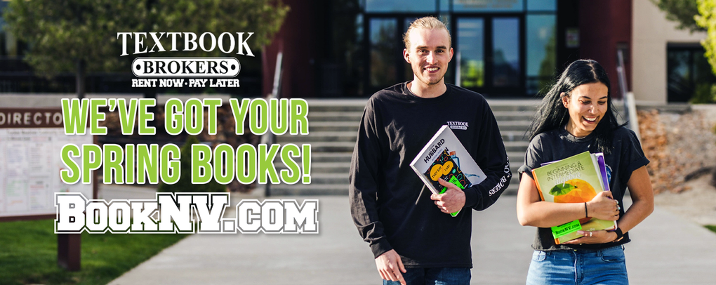 WE'VE GOT YOUR SPRING BOOKS! BOOKNV.COM