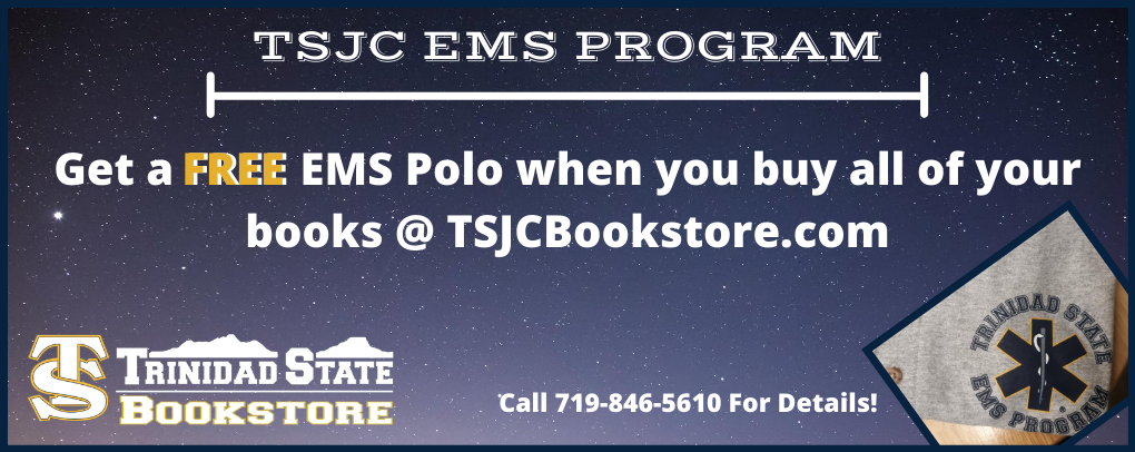 Free EMS Polo with Purchase of Books
