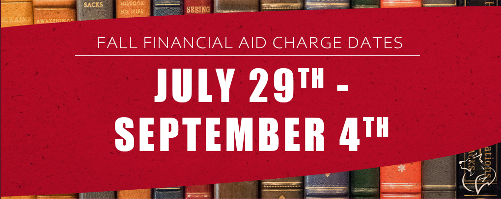 Financial Aid Dates Fall 2020
