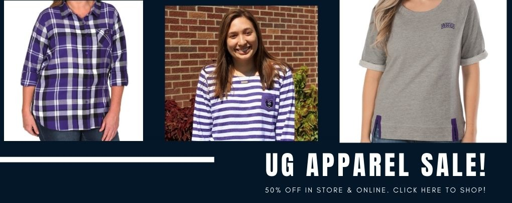 UG Apparel is now 50% off. Click here to shop.