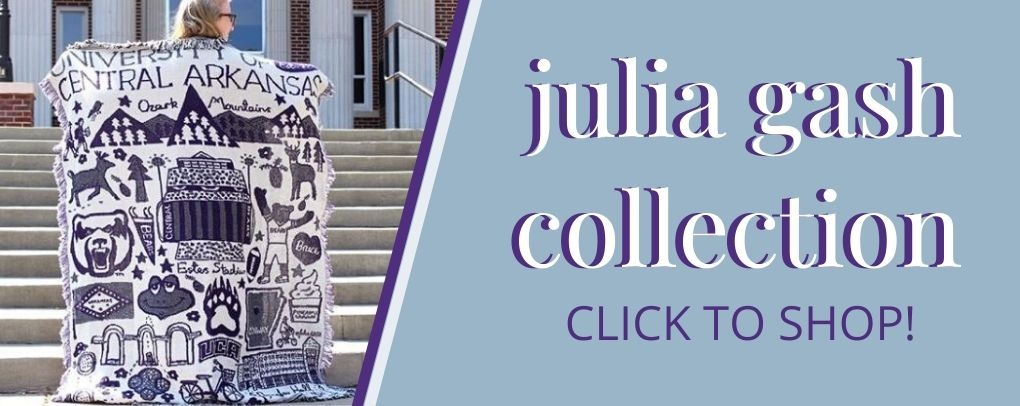 Shop our Julia Gash collection by clicking this banner