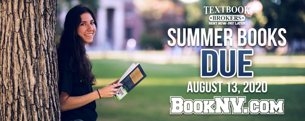 Summer books due