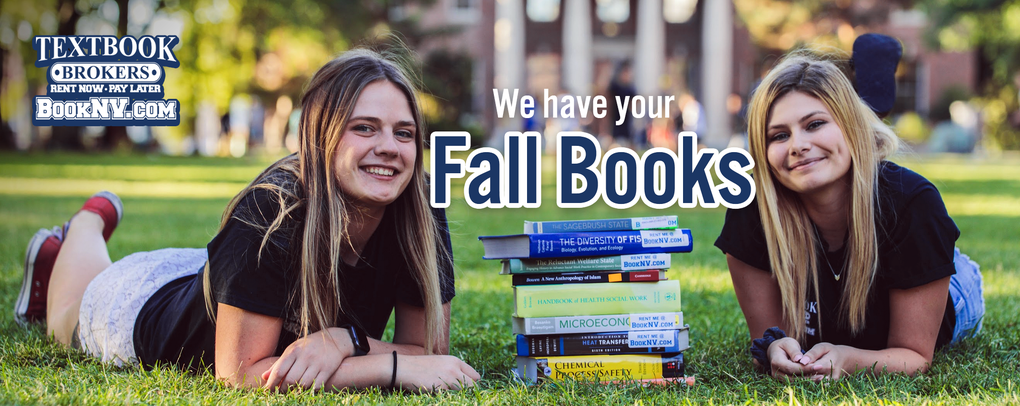 We have your fall books!