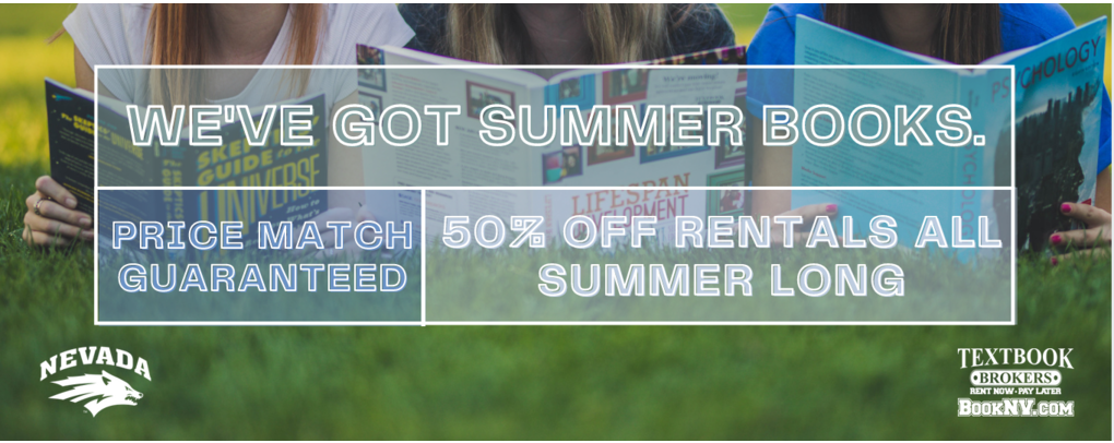 Summer rentals are half off all summer long
