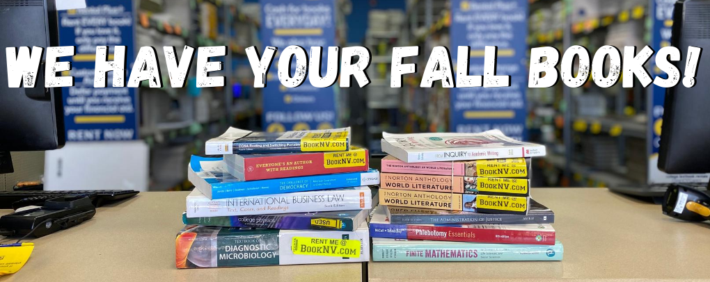 We have your fall books