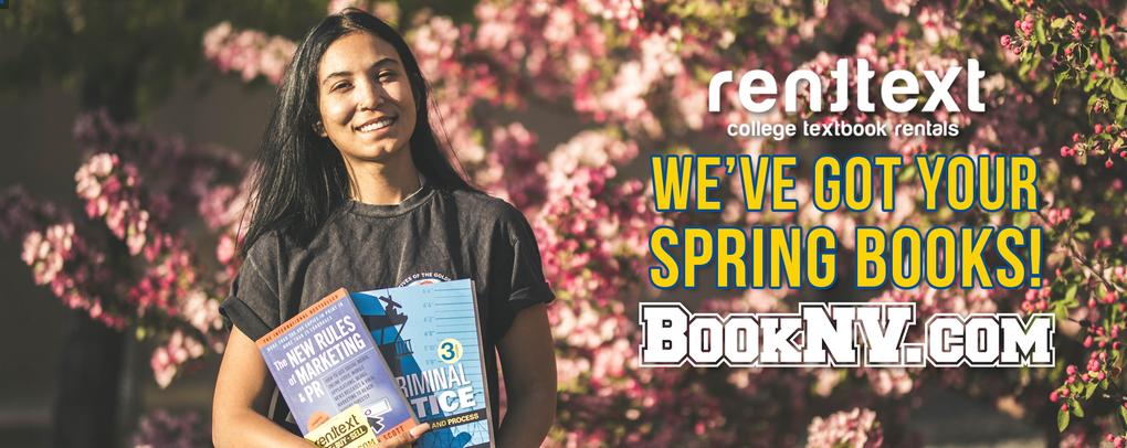 WE'VE GOT YOUR SPRING BOOKS! BOOKNV.COM