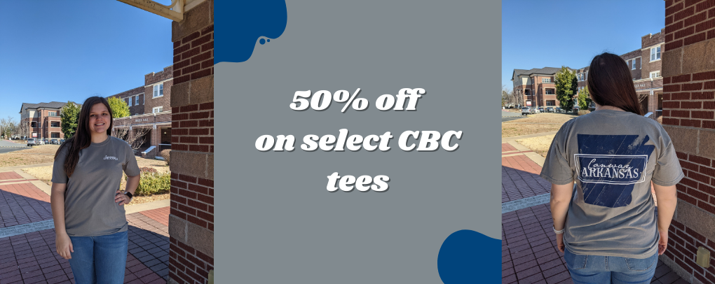 50% off on select CBC tees