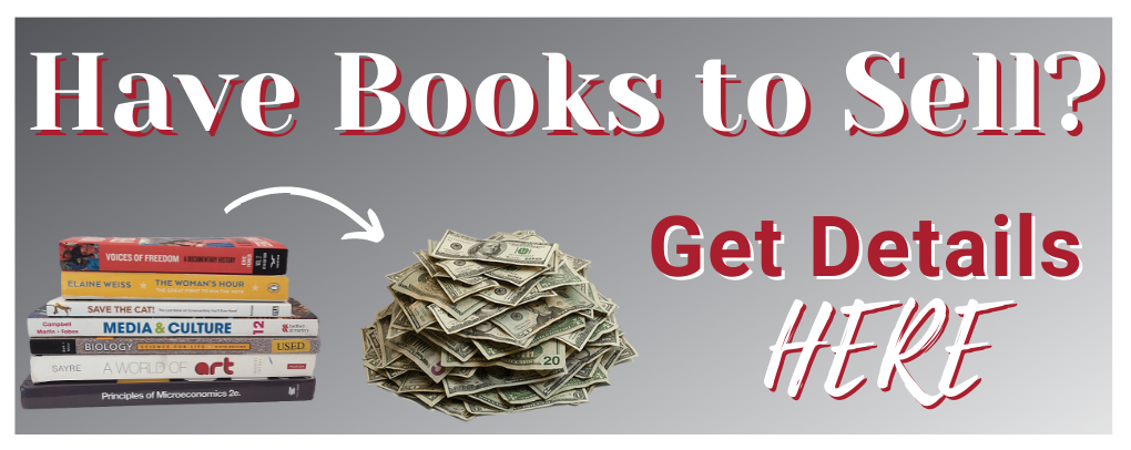 Have books to sell? Click here for details!