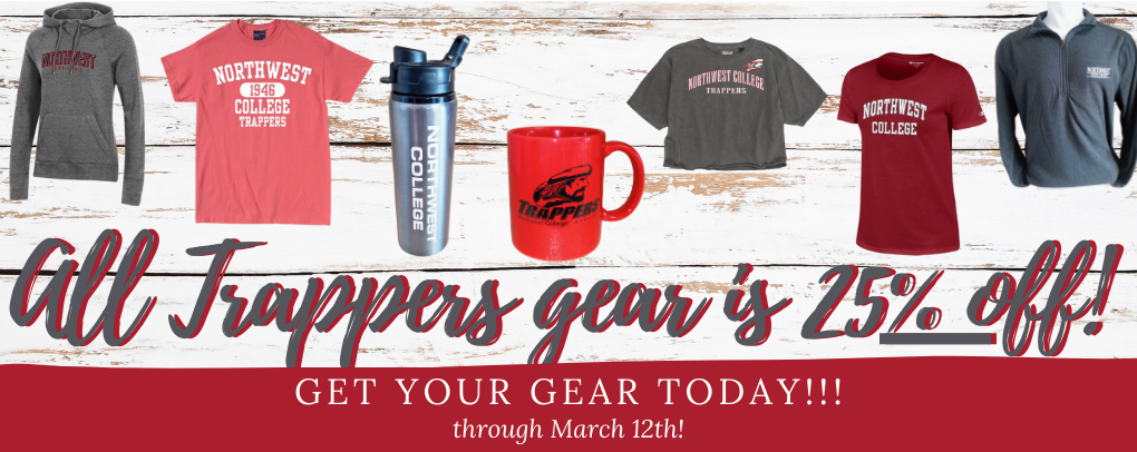 Trappers Gear is 25% off!!