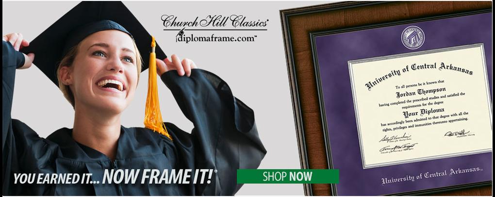 Diploma Frames- Click for link