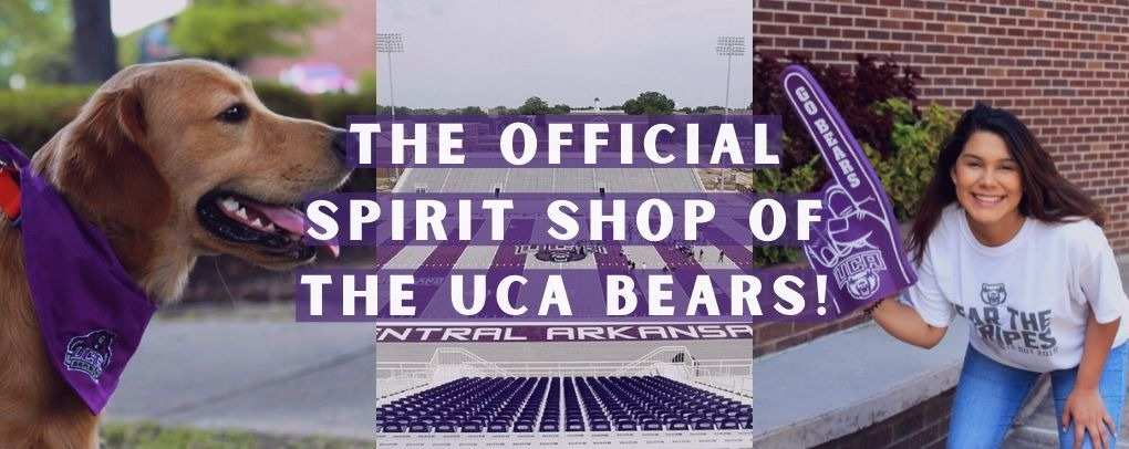 The official spirit shop of the UCA Bears!
