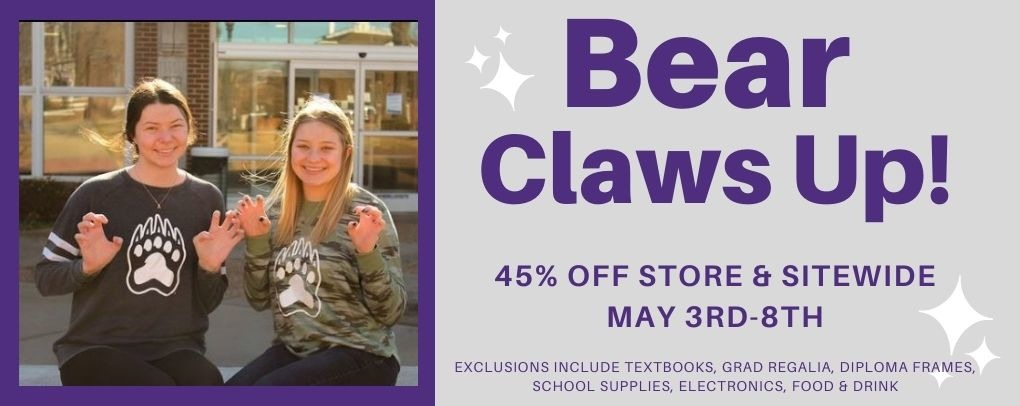 45% off this week only! May 3rd-8th, in store and online