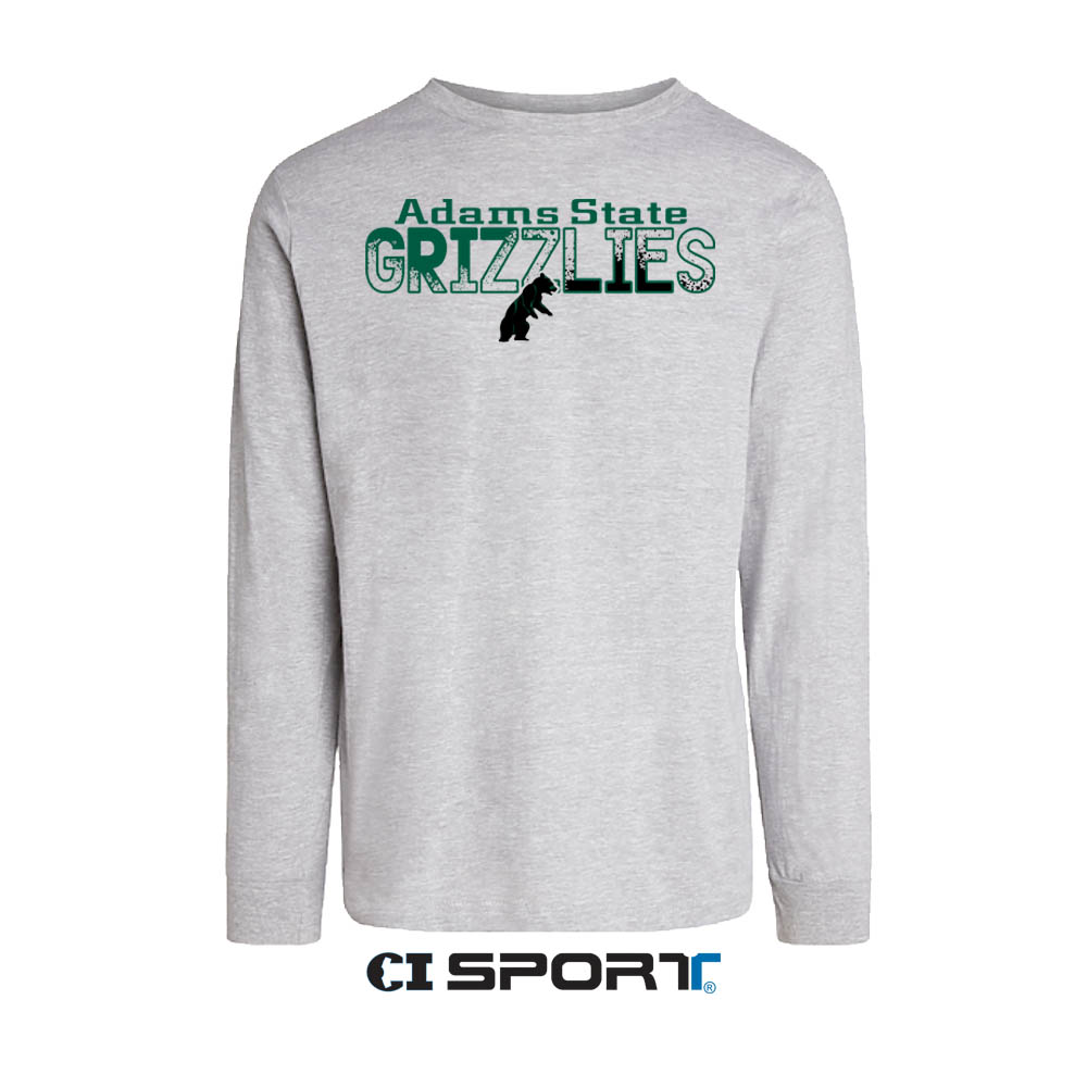 Adams State Grizzlies w/ Bear - Long Sleeve T-Shirt