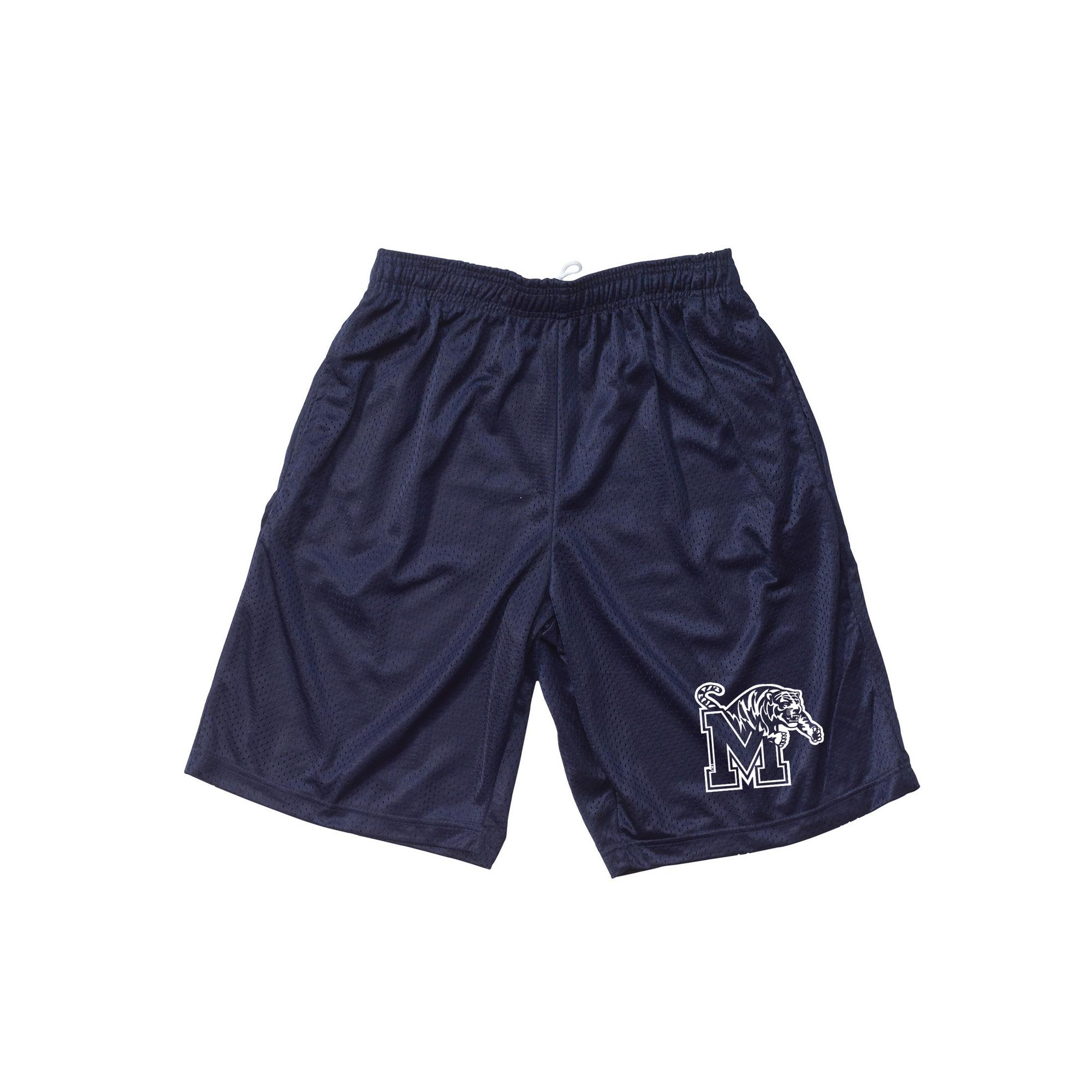 Navy Mesh Short