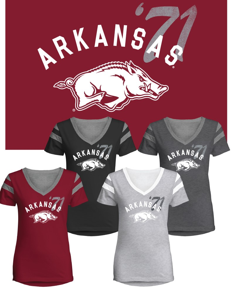 Women's Razorback Crush Tee
