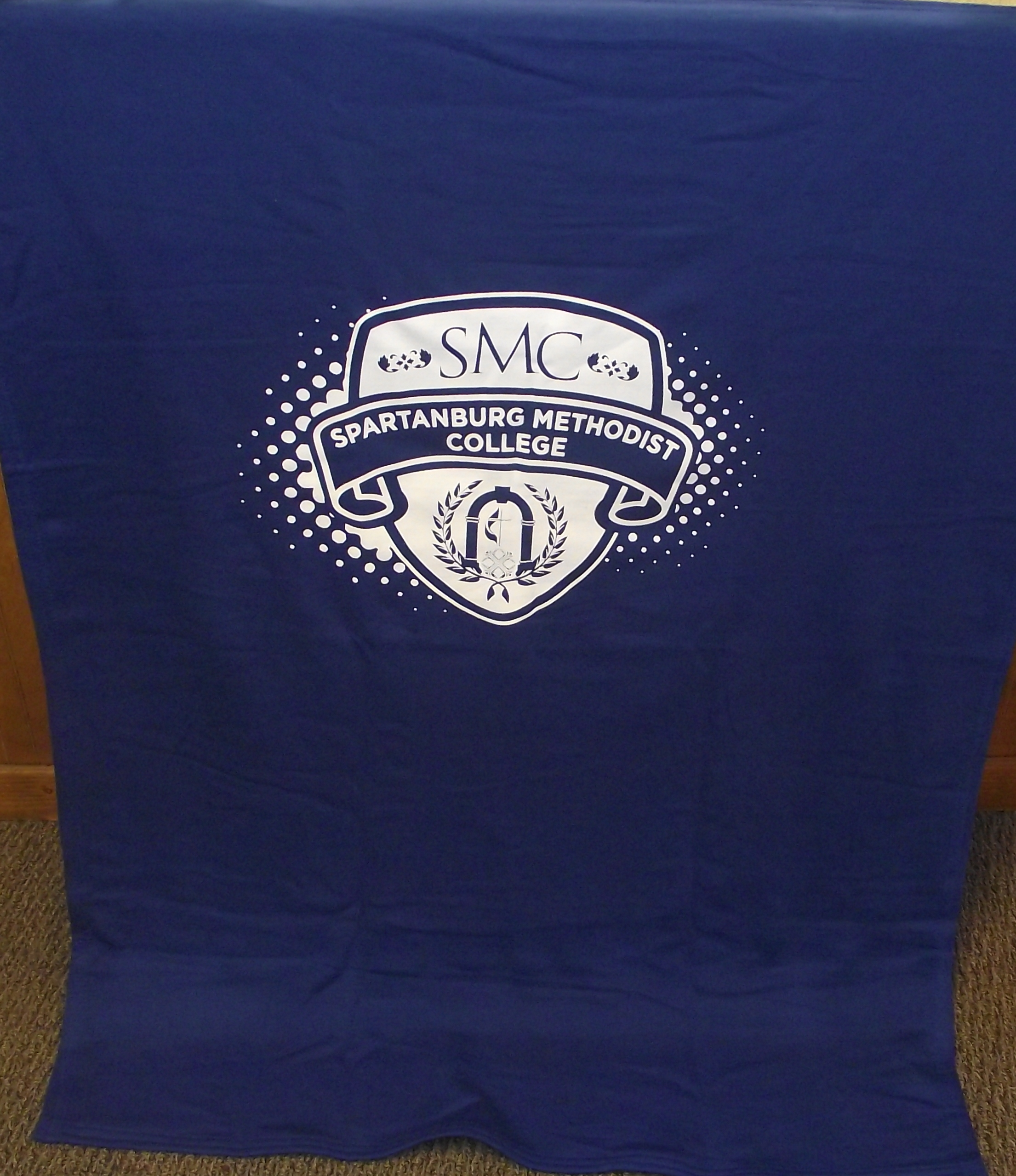 SMC Sweatshirt Blanket